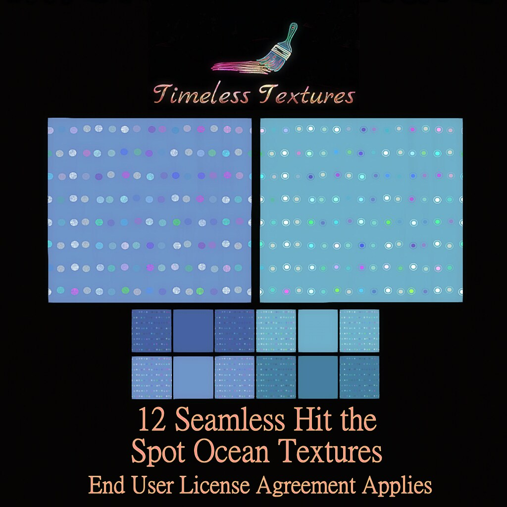 TT 12 Seamless Hit the Spot Ocean Timeless Textures