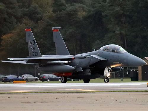 90-0233 MO F-15E Strike Eagle Lakenheath. 5-10-20