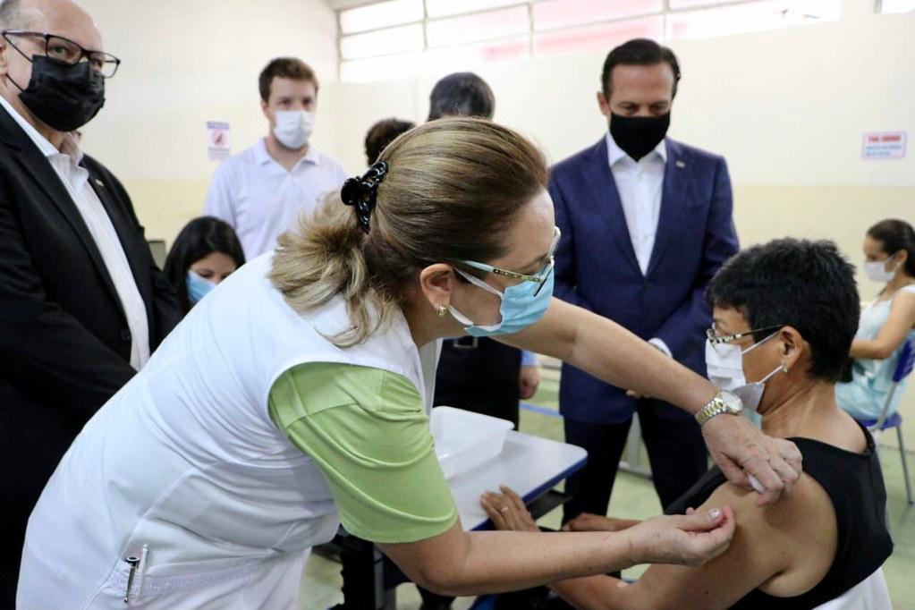 Início Projeto S teste de Vacinação em Massa