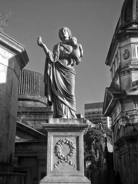 Cementerio de la Recoleta, Recoleta, Capital Federal, Buenos Aires.