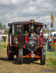 GRAHAM CHRIMES posted a photo:	Various Steam Rally Images.Foden C-Type Estate Tractor 4nhp 'Talisman', works No 12300 later No 13484 built in 1925 reg no LG 8784.