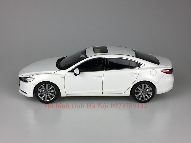 mo hinh o to mazda 6 2021 xe hoi diecast model car san pham qua tang Paudi 1 18 (4)