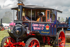 GRAHAM CHRIMES posted a photo:	Various Steam Rally Images.Foden D-type Tractor 'Perseverance', built in 1928 works No 13068 reg no EU 3764.