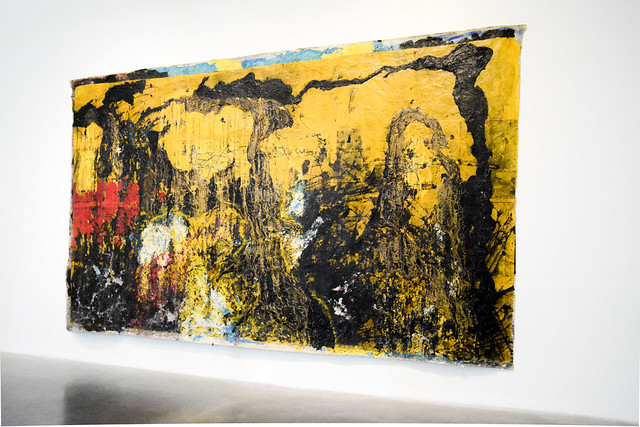 """Mark Bradford - """"Grief and Grievance"""" @ The New Museum"""