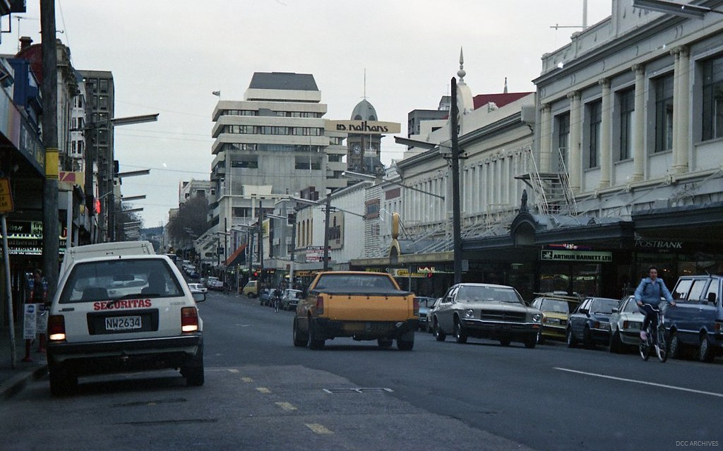 George Street looking South from Hanover Street c1987