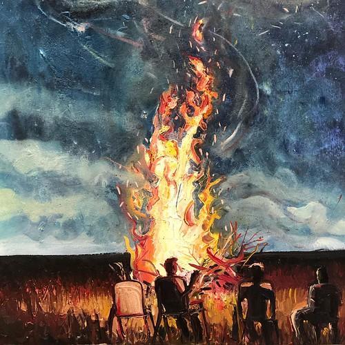 Bonfire by Michael Knutson