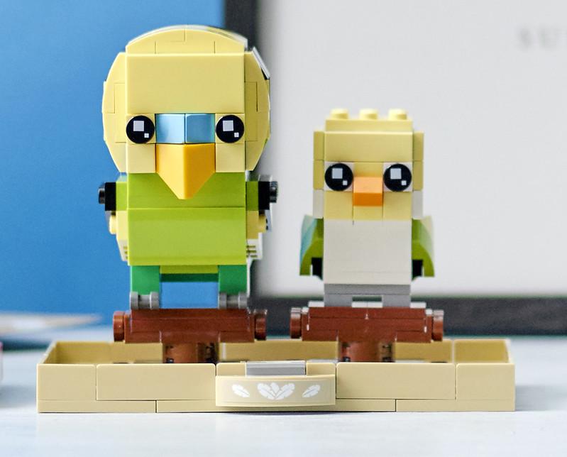 LEGO BrickHeadz Budgies