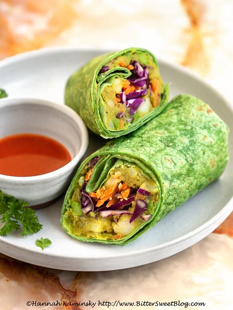 Burma Love - Samusa Wrap