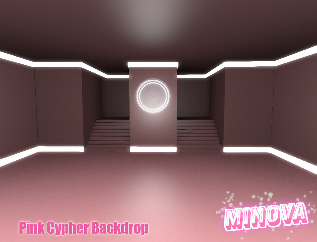 Pink Cypher Backdrop
