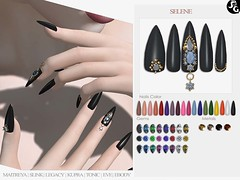 Selene Bento Mesh Nails @ Sense Event