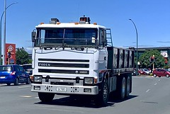 SemmyTrailer posted a photo:	A rare sight on the roads in the North Island of New Zealand in 2021,  is a Foden truck being used in anger, especially so the 4000 series.