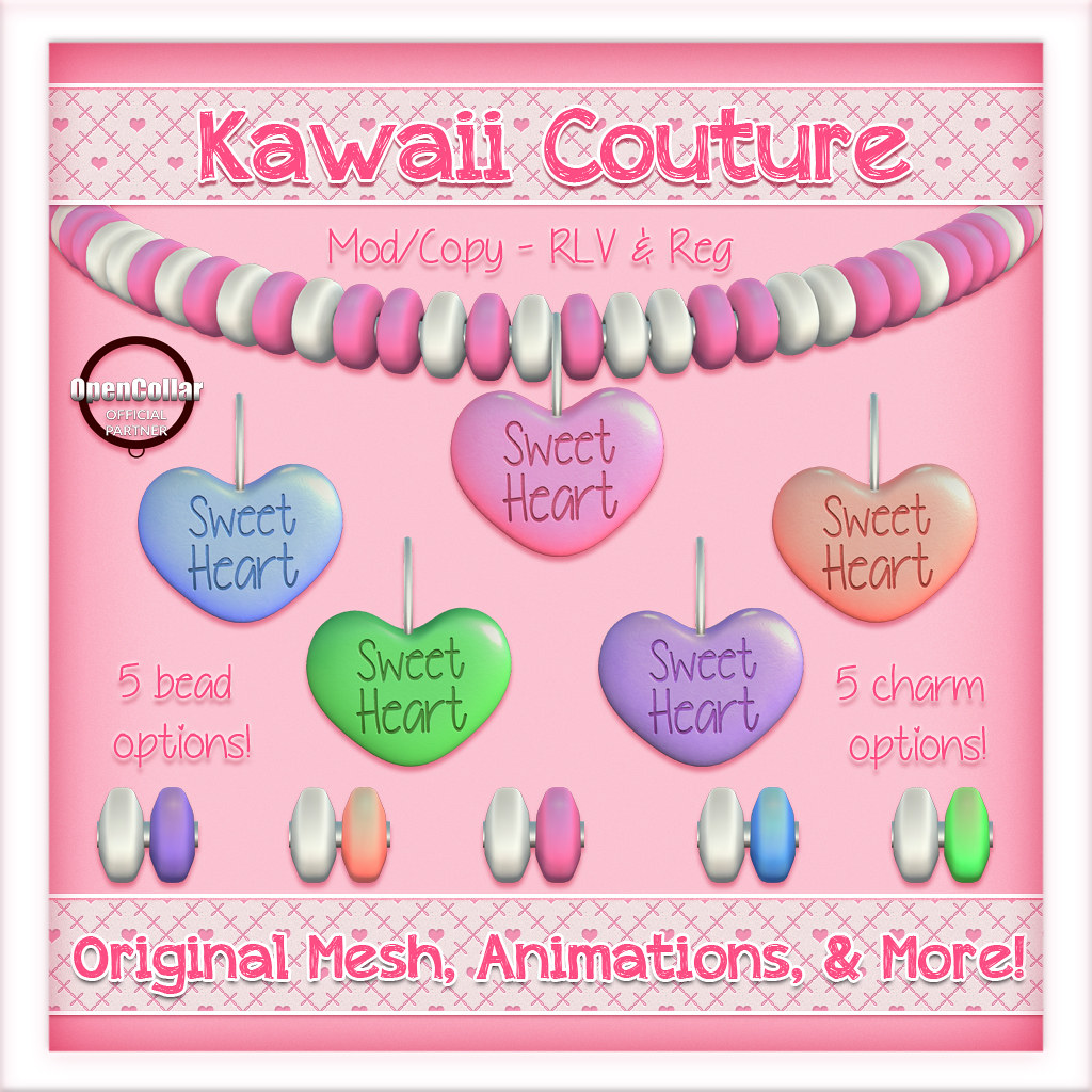 Kawaii Couture – Candy Collars Sweet Heart Ad