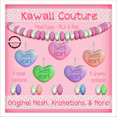 Kawaii Couture - Candy Collars Sweet Heart Ad