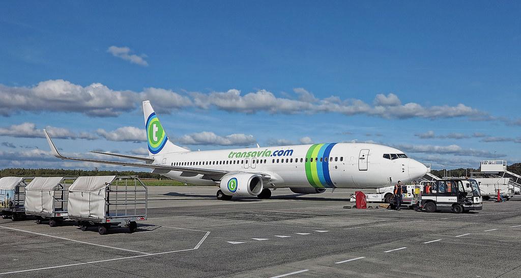Eindhoven Airport, Transavia Boeing 737-800