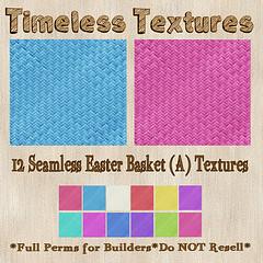 TT 12 Seamless Easter Basket (A) Timeless Textures