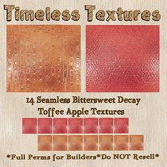TT 14 Seamless Bittersweet Decay Toffee Apple Timeless Textures