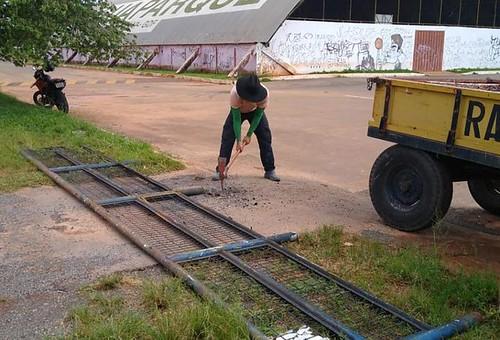 Mais segurança nos acessos de veículos do Taguaparque