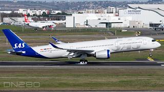 SAS A350-941 msn 484 F-WZNV SE-RSE