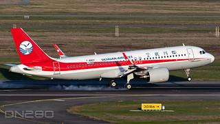 Sichuan Airlines A320-271N msn 10368 F-WWDX / B-321D