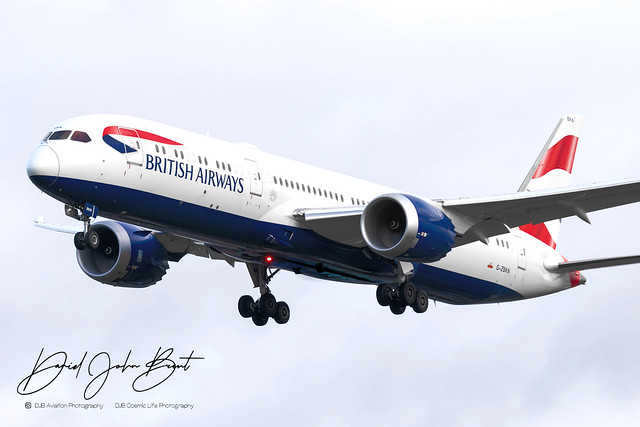 British Airways • Boeing 787 Dreamliner • G-ZBKN