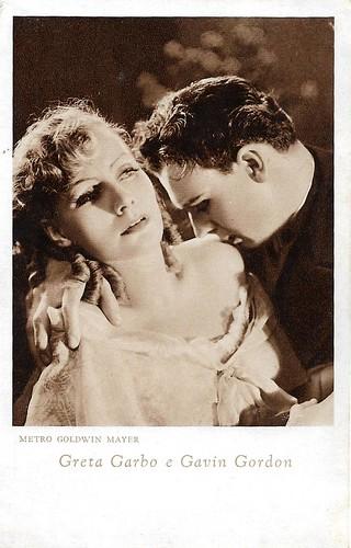 Greta Garbo and Gavin Gordon