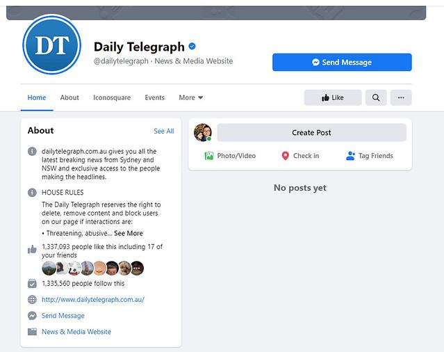 FACEBOOK THE TELEGRAPH