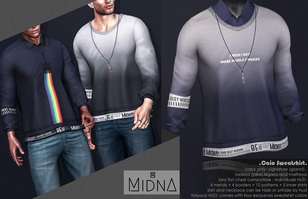 Midna - Caio Sweatshirt