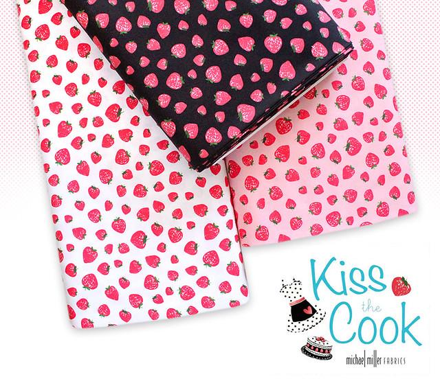 Michael Miller Fabrics Kiss The Cook
