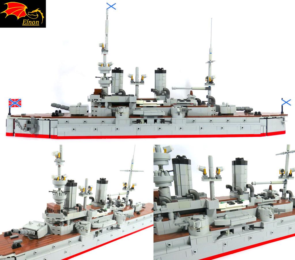 Battleship Petropavlovsk - details