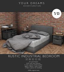{YD} Rustic industrial Bedroom