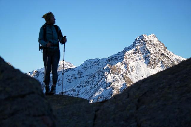 Profili d'alta montagna