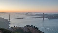 Golden Gate Bridge from the Marin Headlands