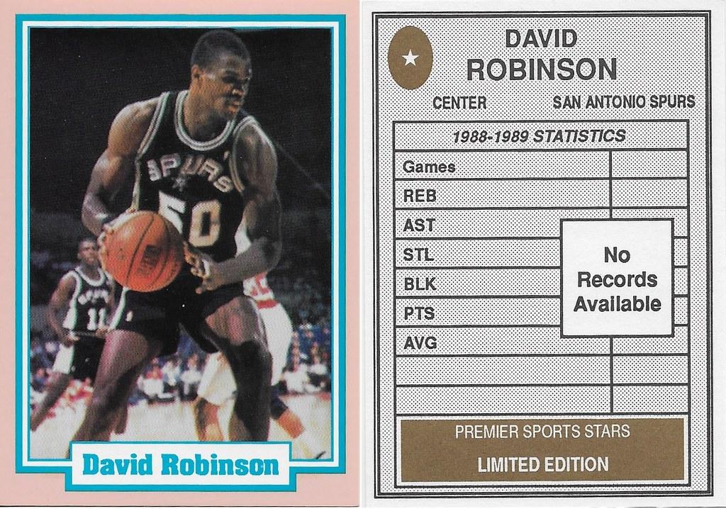 1990 Premier Sports Stars - Robinson, David