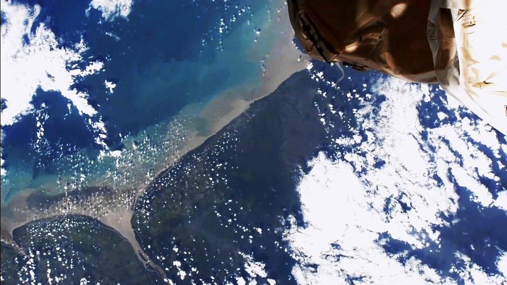 Somewhere over Venezuela