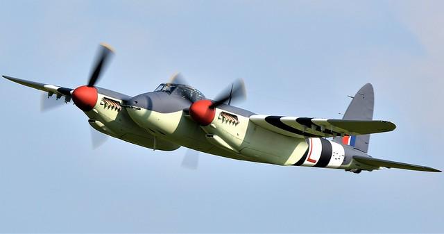 RAF De Havilland Mosquito DH.98 FB MkVI PZ474 NZ2384 ZK-BCV N9099F ZK-BCV