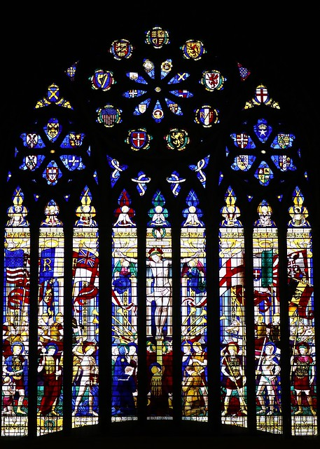 Stained Glass -St Albans Cathedral Herts- 220319 (30)