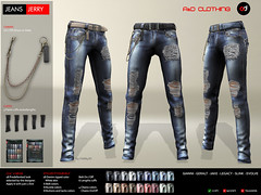 ! A&D Clothing - Pants -Jerry-  FatPack