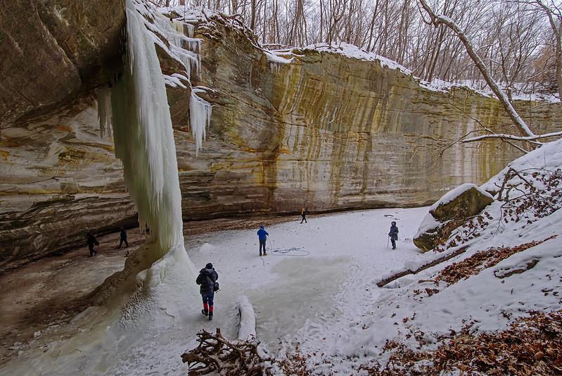 Ottawa Canyon in Winter