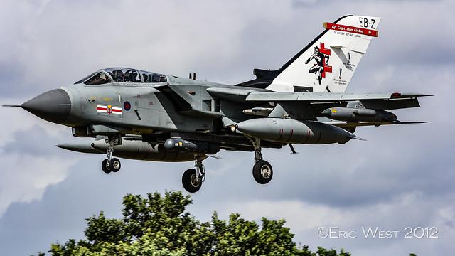 ZG775/EB-Z TORNADO 41sqn RAF