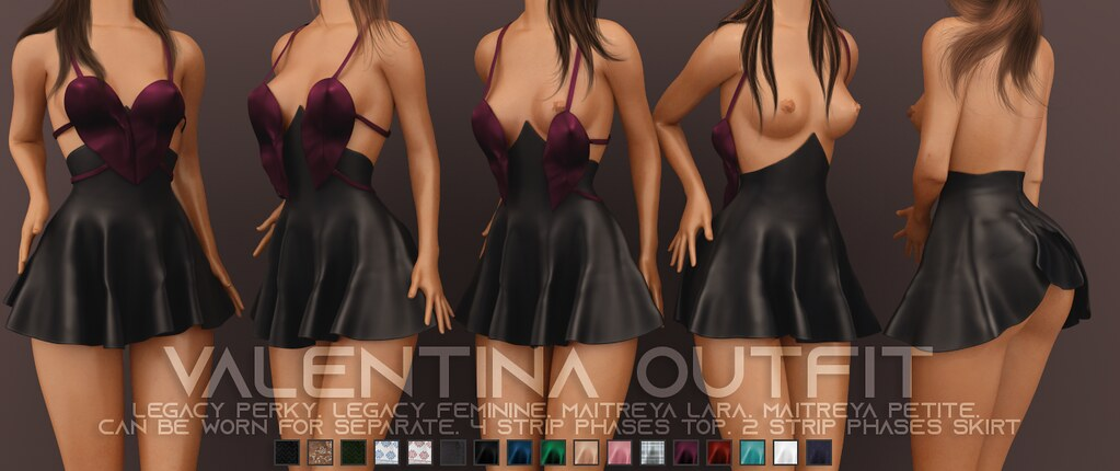Pure Poison – Valentina Outfit – KUSTOM9