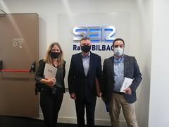 Intervención en Radio Bilbao Cadena Ser - 17/02/2021