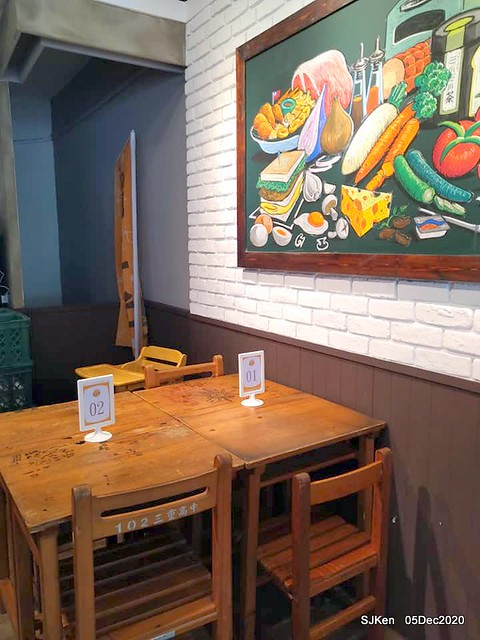 2nd visit at Toast , sandwich & coffee shop, 「高三孝南港店」, Taipei, Taiwan, SJKen, Dec 5,2020.