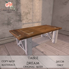 Bloom! - Table DreamAD