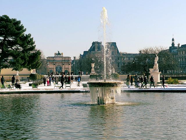 Gel aux Tuileries