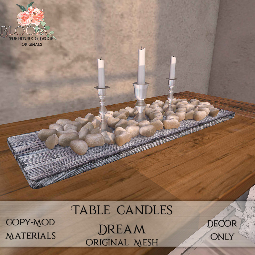 Bloom! – Table Candles DreamAD