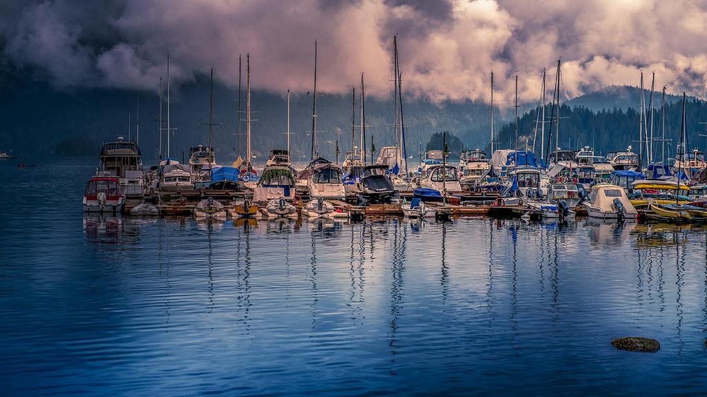 Boats Waiting for Sailors
