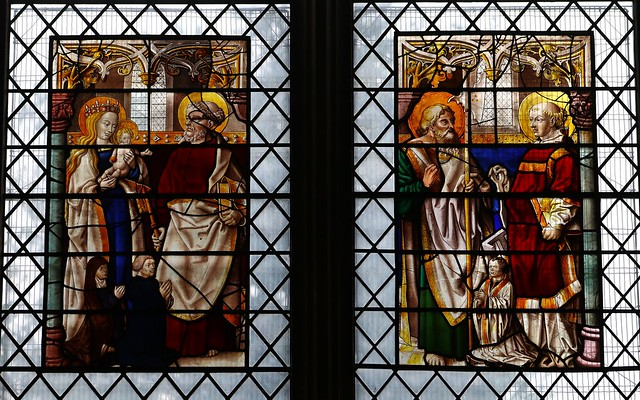 Stained Glass -St Albans Cathedral Herts- 220319 (32)