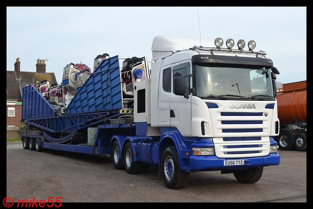 Scania R reg EU56 TYZ