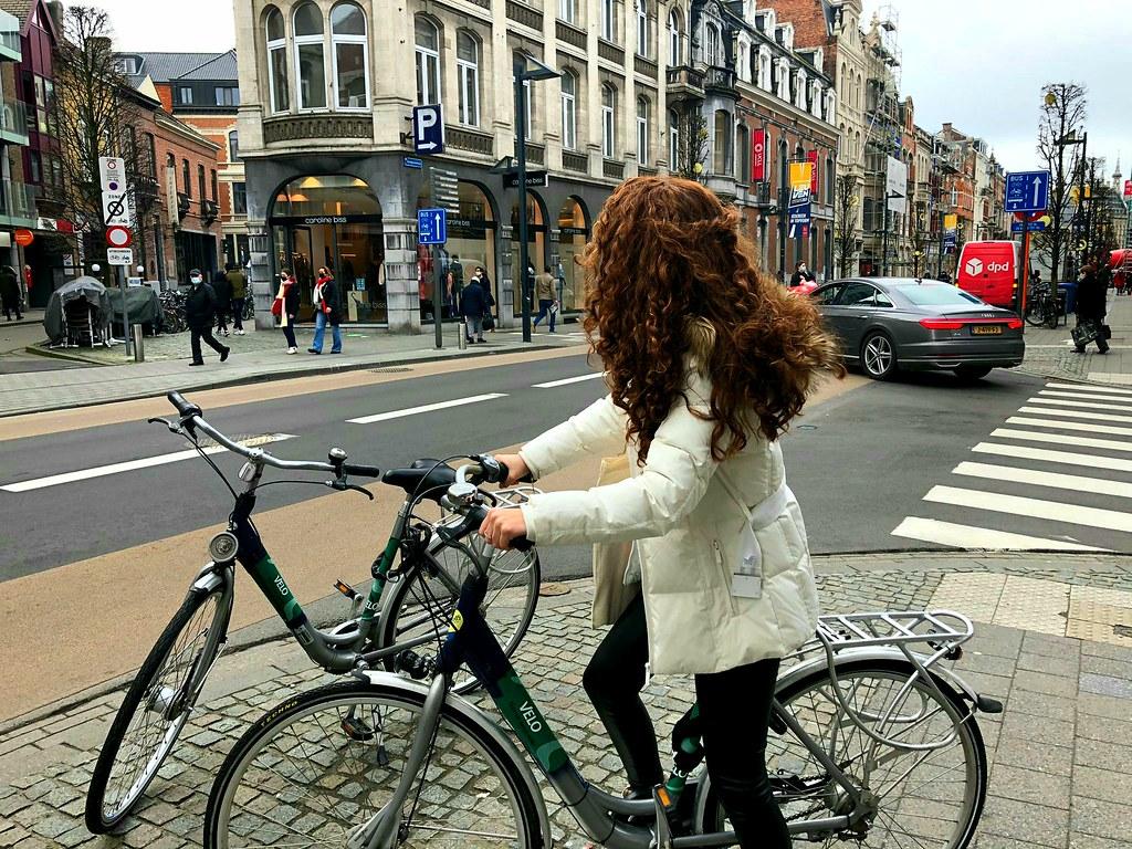 En bici por Lovaina
