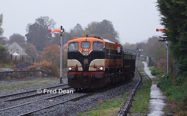 Irish Rail 077 in Navan.